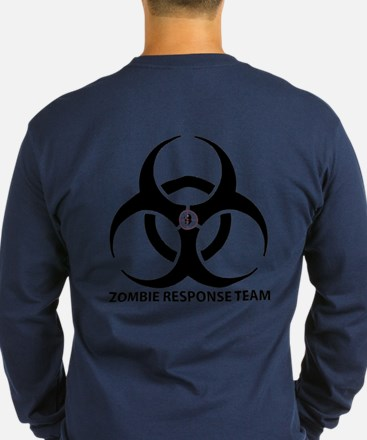 Zombie Response Team Front Long Sleeve T-Shirt