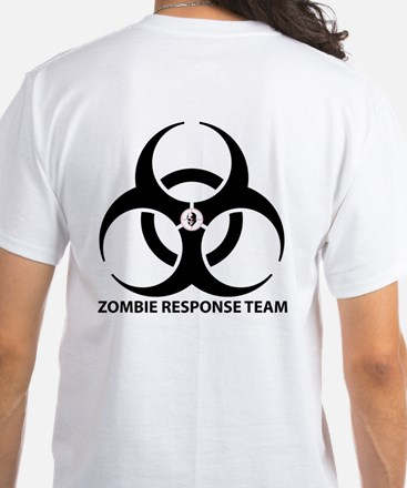 Zombie Response Team Front T-Shirt