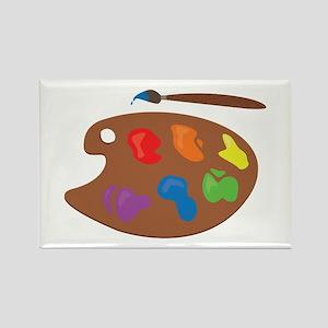 Paint Palette Magnets