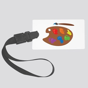 Paint Palette Luggage Tag