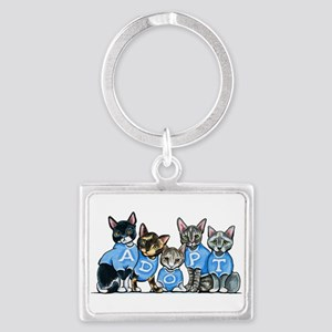 Adopt Shelter Cats Keychains