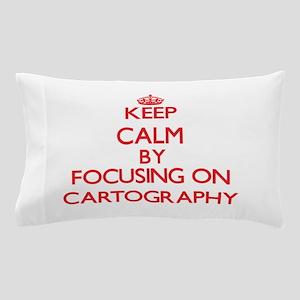 Cartography Pillow Case