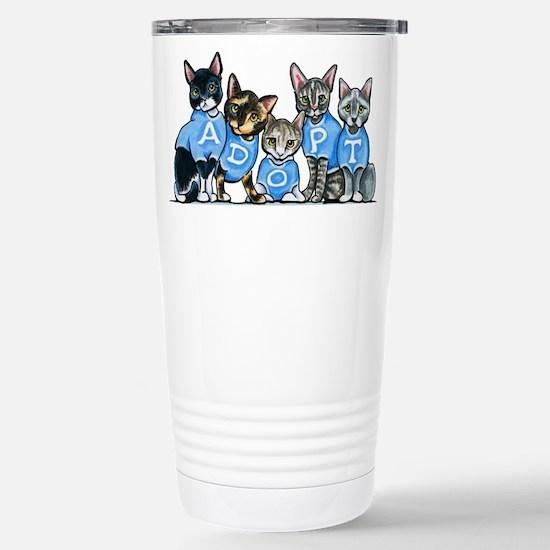 Adopt Shelter Cats Travel Mug