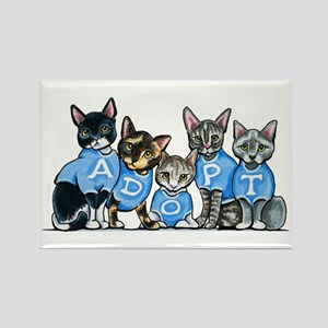 Adopt Shelter Cats Magnets