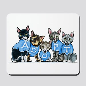 Adopt Shelter Cats Mousepad