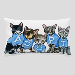Adopt Shelter Cats Pillow Case