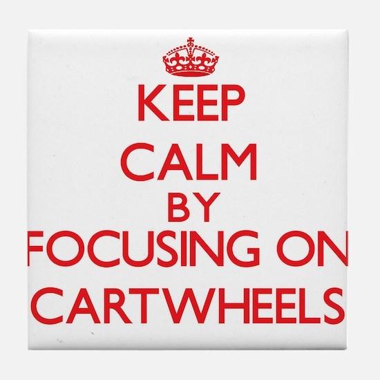 Cartwheels Tile Coaster