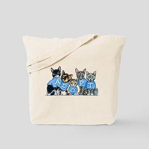 Adopt Shelter Cats Tote Bag