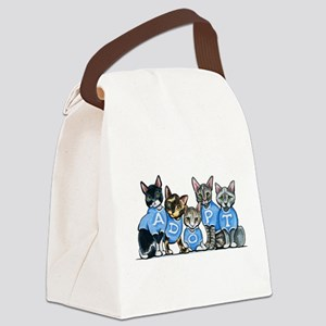Adopt Shelter Cats Canvas Lunch Bag