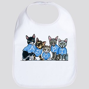 Adopt Shelter Cats Bib