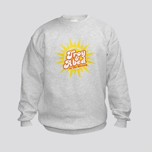 Troy and Abed In The Morning Kids Sweatshirt