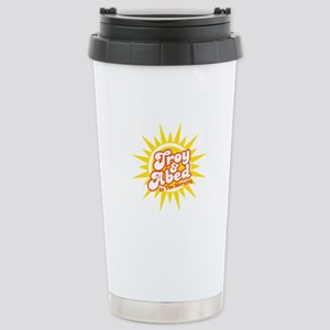 Troy and Abed In The Mo Stainless Steel Travel Mug