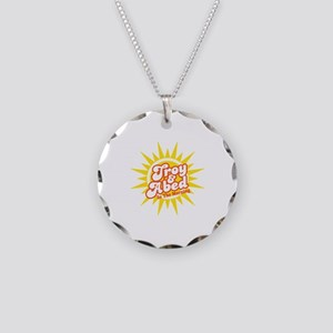 Troy and Abed In The Morning Necklace Circle Charm