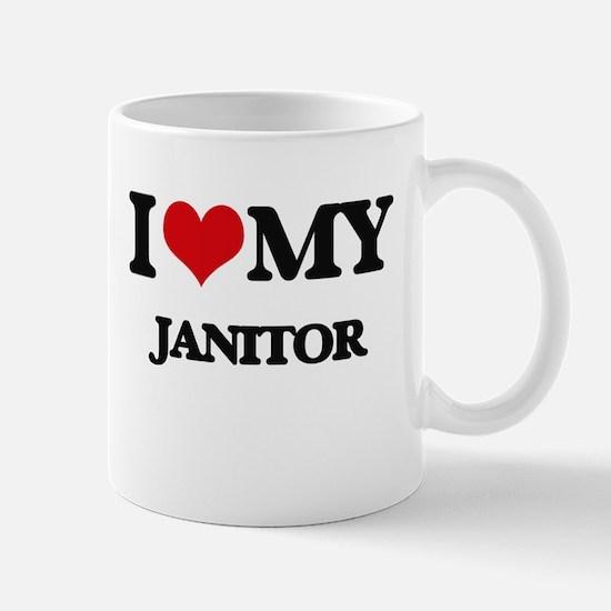 I love my Janitor Mugs