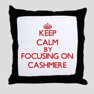 Cashmere Throw Pillow