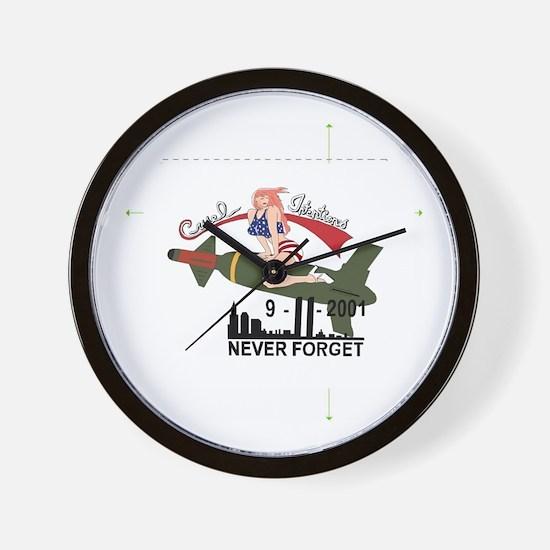 911tile.jpg Wall Clock