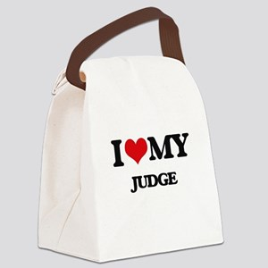 I love my Judge Canvas Lunch Bag