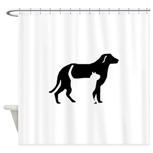 Cat Dog Shower Curtains