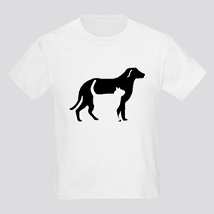 Cat And Dog Silhouette T-Shirt
