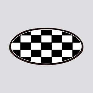 Checkered Pattern Patches