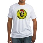USS BOLD Fitted T-Shirt