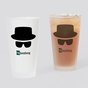 Heisenberg Hat Drinking Glass