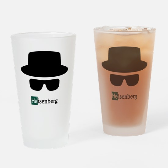 Heisenberg Hat Drinking Glass