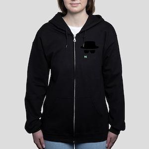 Heisenberg Hat Women's Zip Hoodie