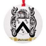 Guillemet Round Ornament