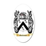 Guillemet 20x12 Oval Wall Decal
