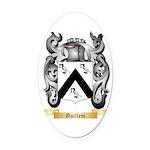 Guillem Oval Car Magnet