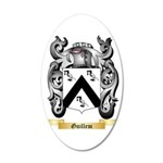 Guillem 35x21 Oval Wall Decal