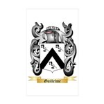Guillelme Sticker (Rectangle 10 pk)