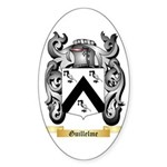 Guillelme Sticker (Oval 50 pk)