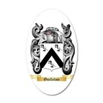 Guillelme 20x12 Oval Wall Decal