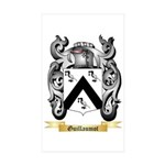 Guillaumot Sticker (Rectangle 50 pk)