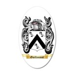 Guillaumot 35x21 Oval Wall Decal