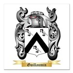 Guillaumin Square Car Magnet 3