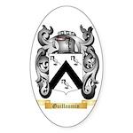 Guillaumin Sticker (Oval 50 pk)