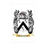 Guillaumeau Sticker (Rectangle 10 pk)
