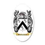 Guillaumeau 20x12 Oval Wall Decal