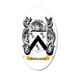 Guillaumeau 35x21 Oval Wall Decal