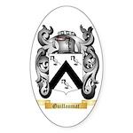 Guillaumat Sticker (Oval 50 pk)