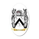 Guillaumat 35x21 Oval Wall Decal