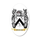 Guilherme 20x12 Oval Wall Decal