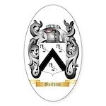 Guilhem Sticker (Oval 50 pk)