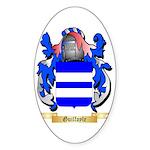 Guilfoyle Sticker (Oval 50 pk)