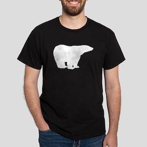 Polar Bear Silhouette T-Shirt