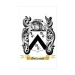 Guilaumet Sticker (Rectangle 50 pk)