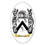 Guilaumet Sticker (Oval 50 pk)